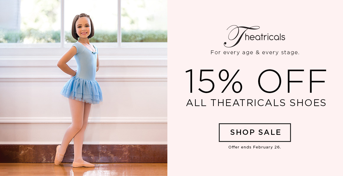 15% off Theatricals Shoes