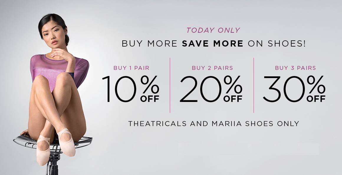 Buy More Save More on Shoes