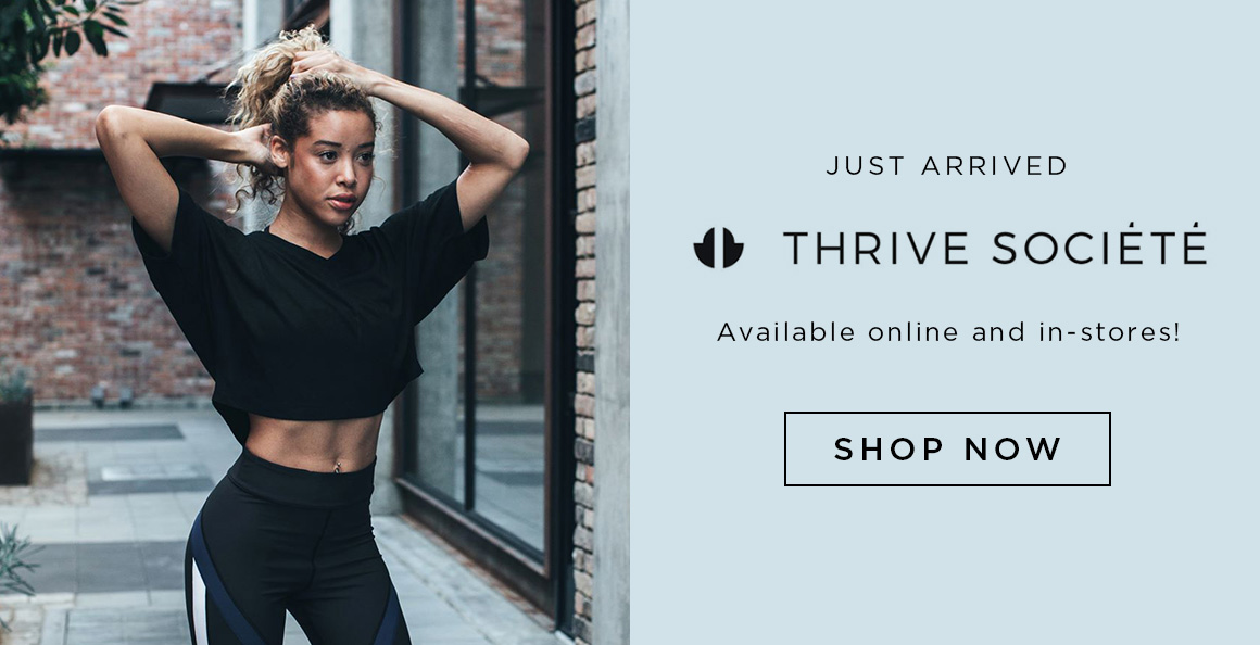 Image of a dancer wearing Thrive Society styles