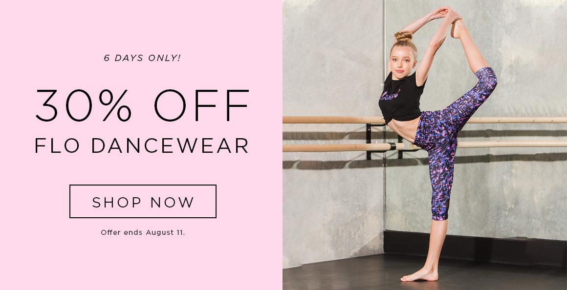 30% off Flo Dancewear
