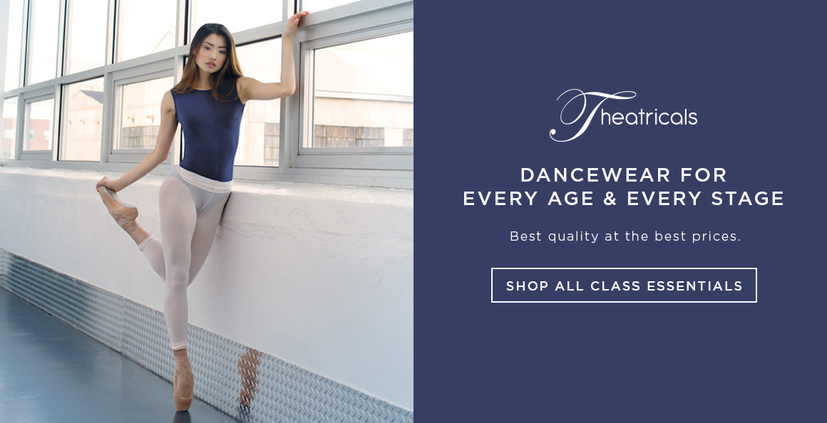 Dance wearing Theatricals dancewear styles