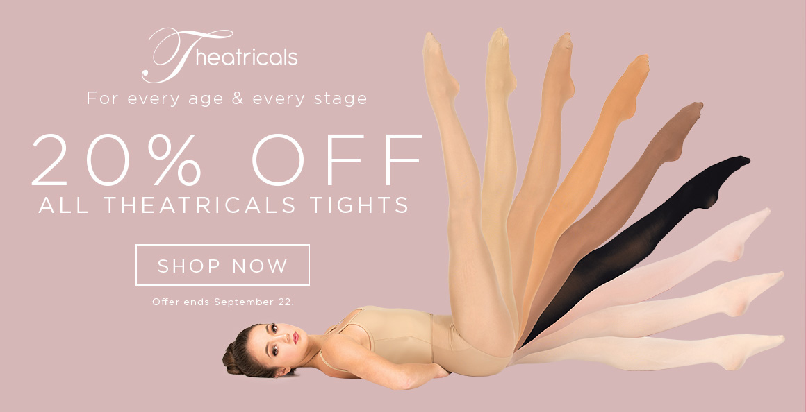 20% off Theatrcals Tights