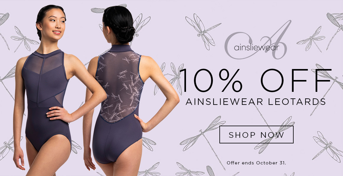 10% off Ainsliewear Leotards