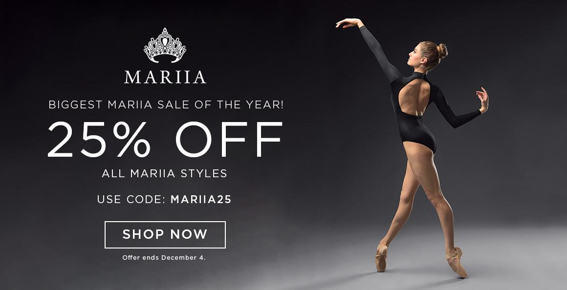 25% off all Mariia styles