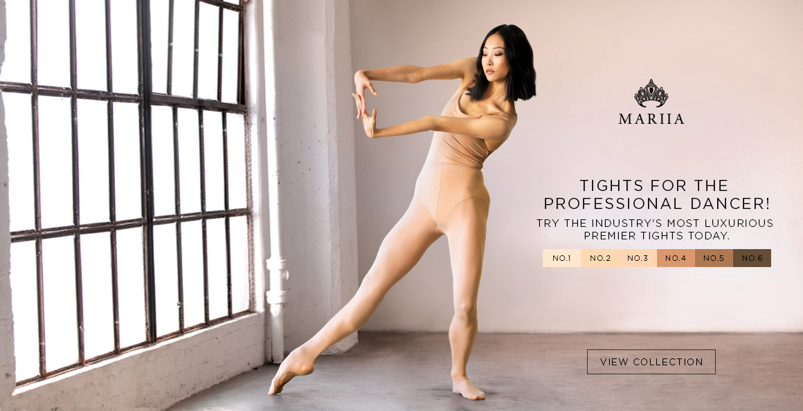 Ad for Mariia tights