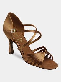Supadance - Womens Crisscross Strap Ballroom Dance Shoes