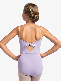 "Ainsliewear - Girls ""Lucy"" Back Bow Camisole Leotard"