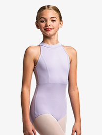 "Ainsliewear - Girls ""Vera"" Mesh Back Tank Leotard"