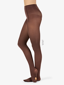 Capezio - Adult Plus Size Ultra Soft Transition Tights with Self Knit Waistband