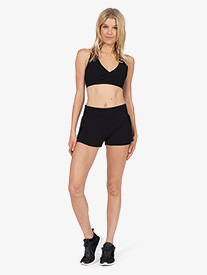 Thrive Societe - Womens Peep Mesh Run Short
