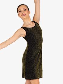 DanzNmotion - Womens Sparkle Tank Dance Dress