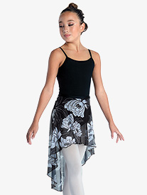 DanzNmotion - Girls Sparkle High-Low Dance Skirt
