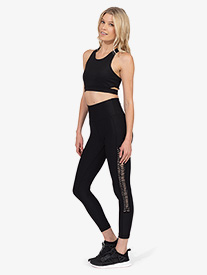 Thrive Societe - Womens Tiered 7/8 Legging