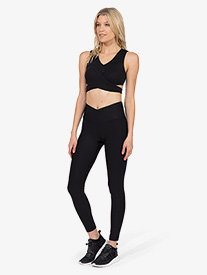 Thrive Societe - Womens Wrapped 7/8 Legging