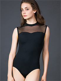 Suffolk - Adult Illusion Sweetheart Tank Leotard