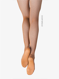 Capezio - Adult Plus Size Professional Seamless Fishnet Tights
