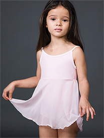 Suffolk - Girls Mesh Camisole Dance Dress