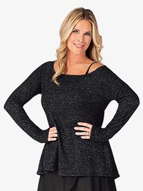 BalTogs - Womens Long Sleeve Dance Sweater