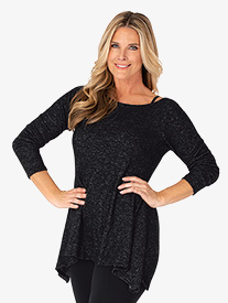 BalTogs - Womens Long Sleeve Dance Tunic Top