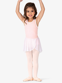 BalTogs - Girls Mesh Mock Wrap Ballet Skirt