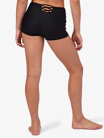 "California Kisses - Womens ""Emma"" Crisscross Back Dance Shorts"