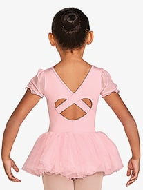 Bloch - Frill Sleeve Tutu Leotard