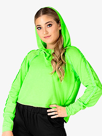 Dance Department - Hooded LS Pull Over