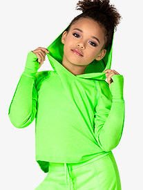 Dance Department - Child Hooded LS Pull Over