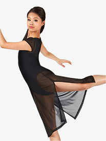 Double Platinum - Adult Mesh Short Sleeve Dress