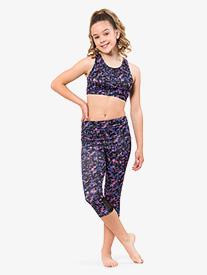 Flo Active - Girls Workout Capri Leggings
