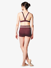 Bloch - Womens Crisscross Dance Shorts