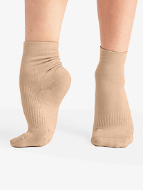 """Capezio - Unisex """"Lifeknit Sox"""" Dance Socks"""