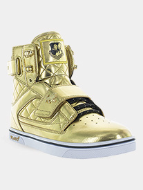 "Vlado - Adult Unisex ""Atlas"" Metallic High-Top Sneakers"