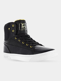 "Vlado - Adult Unisex ""Jazz"" Faux Leather High-Top Sneakers"