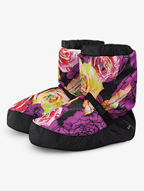 Bloch - Adult Floral Print Warm-up Boots