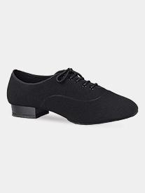 "Dance America - Mens ""Jackson"" 1"" Heel Canvas Ballroom Dance Shoes"