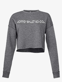 Joffrey Ballet School - Womens Cropped Fleece Dance Sweater