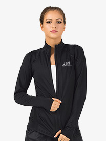 Joffrey Ballet School - Womens Zip-Up Long Sleeve Dance Jacket