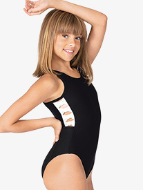 Honeycut - Girls Side Bow Tank Leotard