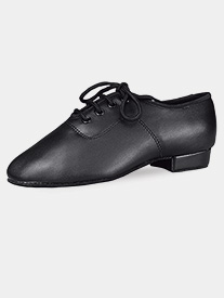 "Dance America - Boys & Mens ""Lincoln"" 1"" Heel Leather Ballroom Dance Shoes"