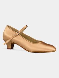 "Dance America - Girls & Womens ""Logan"" 1.8"" Heel Ballroom Dance Shoes"