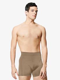 """Lulli - Mens """"Fabien"""" Wide Waistband Dance Shorts"""