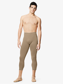 "Lulli - Mens ""Jerald"" High Waist Capri Dance Leggings"