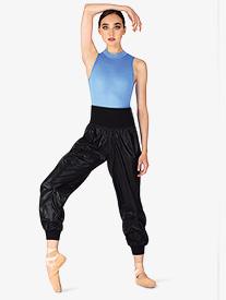 Mirella - Womens Roll-Over Ripstop Dance Pants