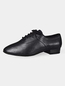 "Dance America - Mens ""Manhattan"" 1"" Heel Leather Ballroom Dance Shoes"