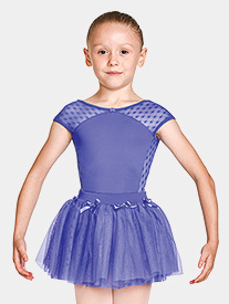 Mirella - Girls Bow Waist Pull-On Ballet Skirt