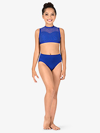 Body Wrappers - Girls Performance MicroTech Briefs