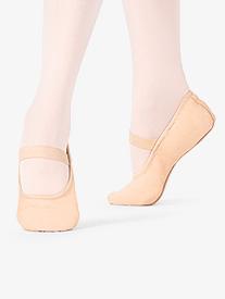 Mariia MX - Girls Premium Leather Full Sole Ballet Shoes