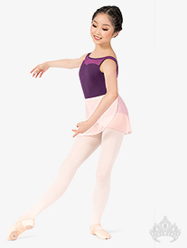 Mariia MX - Girls Canvas Nylon Spandex Insert Split Sole Ballet Shoes