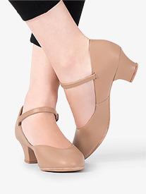 """Mariia MX - 1.5"""" Leather Character Shoe"""